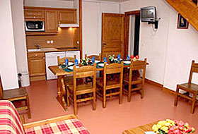 Valmeinier - Lodges de Pierres Appartement