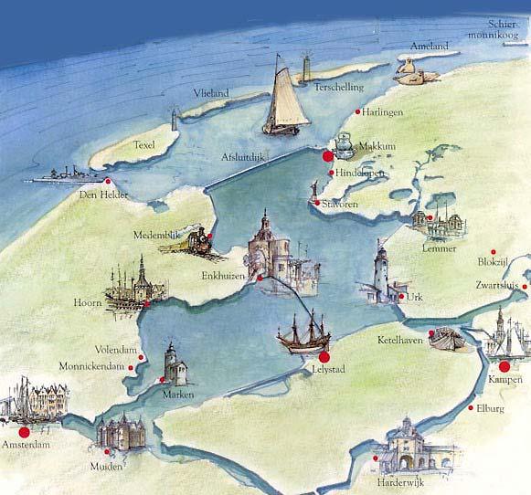 Niederlande Ijsselmeer Karte.Segelwochenende Ab Harlingen Ort Action Ijsselmeer Wattenmeer